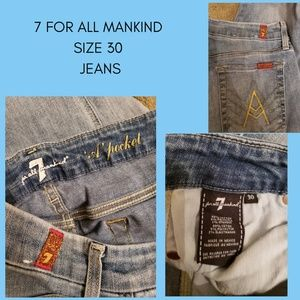 7 For All Mankind Sz30 Jeans